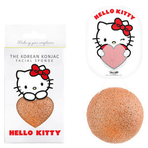 The Korean Konjac Facial Sponge 'Hello Kitty'